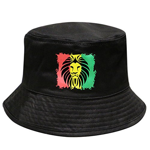 4065436b6d5 Rasta Caps Bucket Hats Bob Marley Hemp Lion of Judah Designs