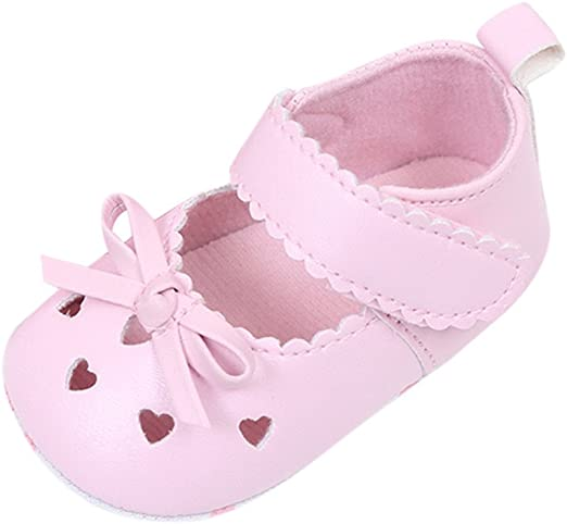 Kimanli Newborn Infant Baby Girls Floral Crib Shoes Soft Sole Anti-Slip Sneakers Canvas