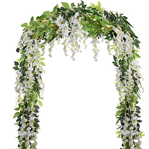 Pcs 31ft Artificial Wisteria Flowers Hanging product image