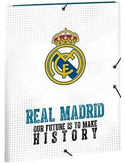 Safta 511854068 2018 Real Madrid Carpeta solapas 34 cm ...