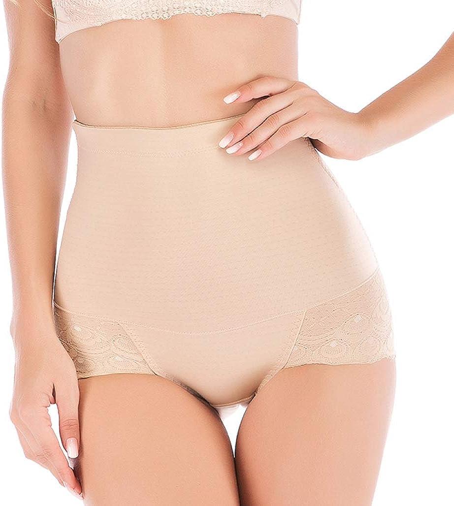 Women Body Shaper Lace Butt Lifter Waist Trainers Cinchers Seamless High Waist Slim Underwear Tummy Control Panties