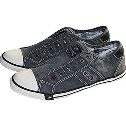 Tysonz Américain Refroidisseurs de liquide été Sneakerz Chaussures sans Lacets Anthracite 37-46 NEUF - Anthracite, 38 EU