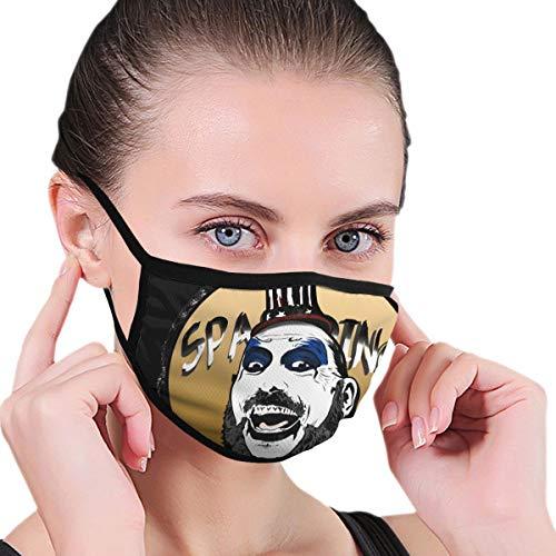 KJAHSLK Mouth Mask Captain Spaulding The Devils Rejects Dust Masks For Outdoor