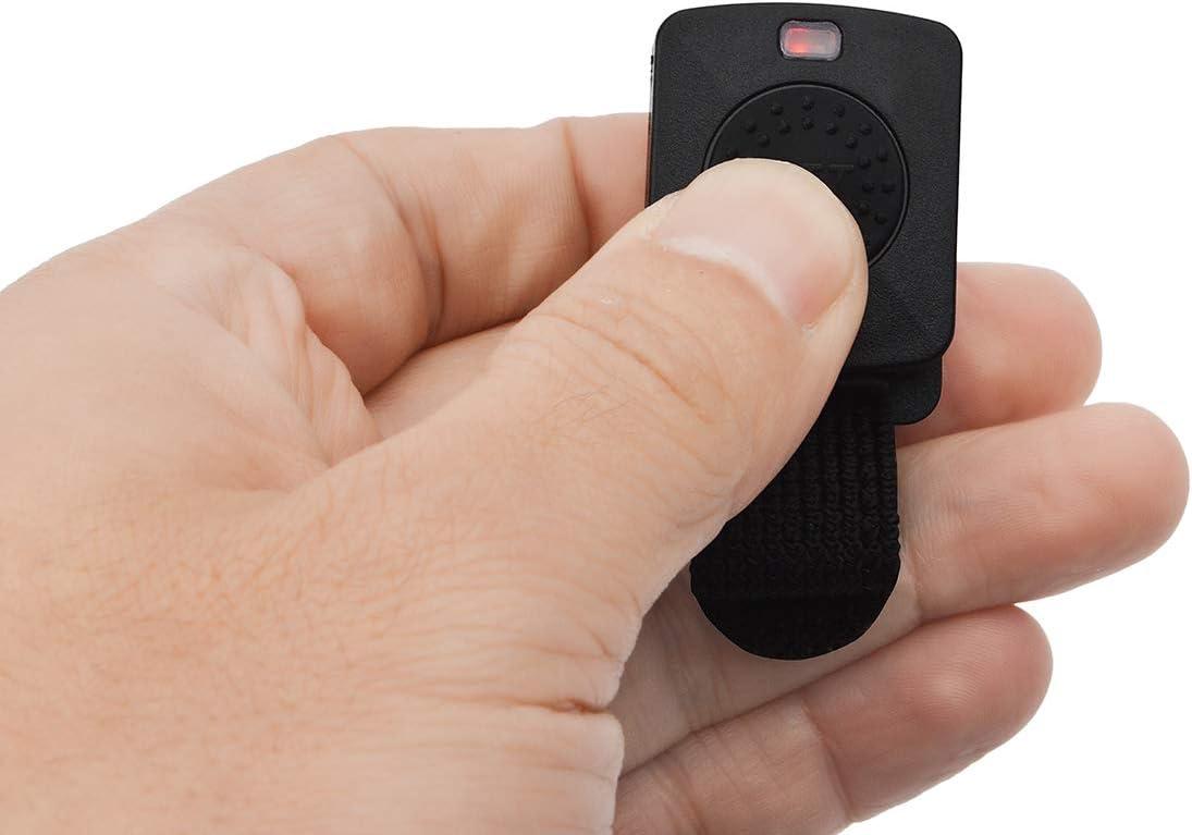 HYS Bluetooth Wireless Two Way Radio Walkie-Talkie Handset Earpiece with Finger PTT for Midland LXT80 LXT110 LXT112 LXT114 ICOM IC-F4 F20 F21 F22 F24 F25 F26 V8 V80 V80E V82 2pin wakie-Talkie