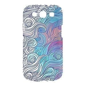 Hairs Samsung S3 3D wrap around Case - Design 10
