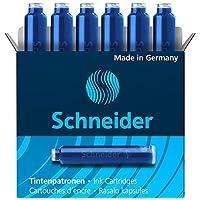 Deals on Schneider Fountain Pen Ink Cartridge Box of 6 (06603