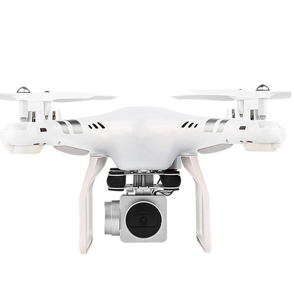 ZHEL Drohne und Kamera 30w HD-Fotografie, 4-Achsen-Gyro WiFi-Fernbedienung Anfänger-Minidrohne für Kinder,Weiß