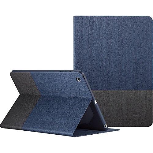 - ESR iPad mini Case, iPad mini 2 Case, [Non Slip Surface] PU Leather Smart Cover Folio Case Stand with Auto Sleep/Wake Function for iPad mini 1/2/3 (Knight)