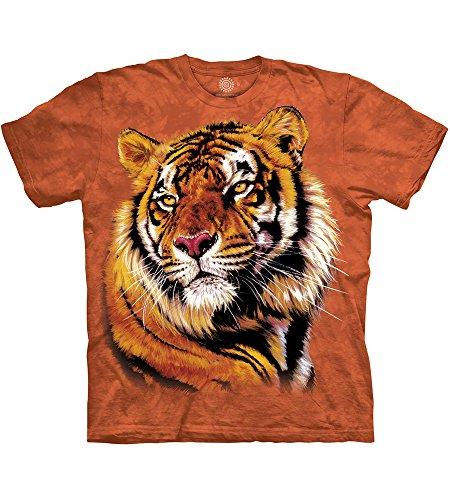 The Mountain Power & Grace Adult T-Shirt, Orange, Medium