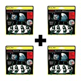 Nite Ize Figure 9 Tent Line Kit 4-Piece Reflective Rope Line w/Tighteners 4-Pack