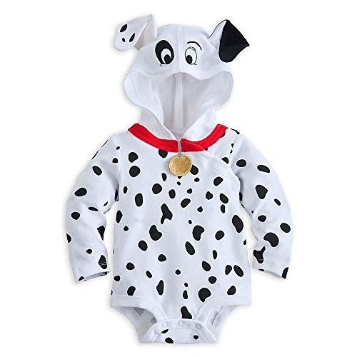 Disney Store 101 Dalmations Puppy Costume Hooded Size 9 - 12 Months (Dalmatian Costumes For Toddlers)