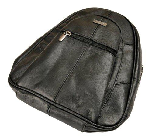 Lorenz Rucksack Taschen Damen - Leder - schwarz