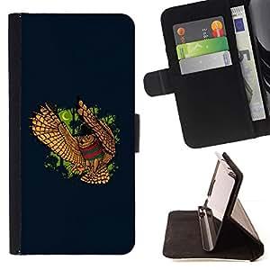 Momo Phone Case / Flip Funda de Cuero Case Cover - DIVERTIDA - NOCTÁMBULO - HTC Desire 626