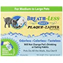 ARK Naturals PRODUCTS for PETS 326073 Breath-Less Fizzy Plaque Zapper, Medium/Large, 30-Count, 0.07-Ounce