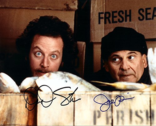 Home Alone signed autographed cast 8 X 10 Reprint Photo Pesci & Stern - Beautiful ! Beautiful Autographed Photo