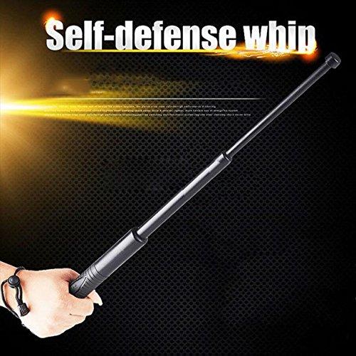 "Expandable Telescopic Retractable Sticks Poles for Hiking Walking Trekking Self Defence Emergency (Plastic, 25"")"