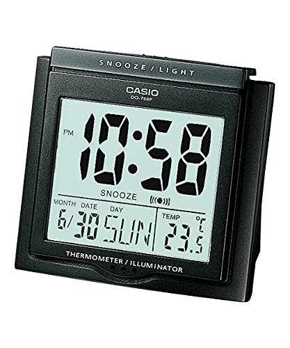 9fbf7e00ecb Buy Casio Digital Table Clock (DQ-750F-1DF) Online at Low Prices in ...