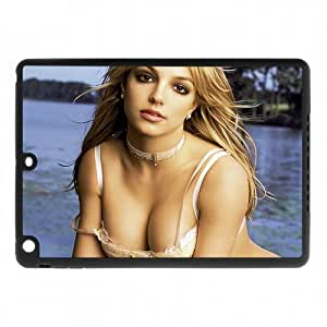 Pop Star Britney Jean Spears Theme Case Cover for IPad Air - Hard PC Back&4 sides TPU Protective Case Shell-Perfect as gift