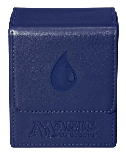 Ultra Pro Magic the Gathering: MTG Mana Magnetic Flip Box (Deck Box / UPR86107) Blue (Magic Gathering Deck Box compare prices)