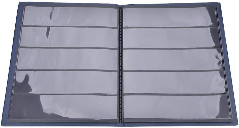 NATRUSS Álbum de Sellos Conveniente portátil, Libro Azul de la colección de Sellos, Sellos para Alimentos para Sellos(Blue): Amazon.es: Juguetes y juegos