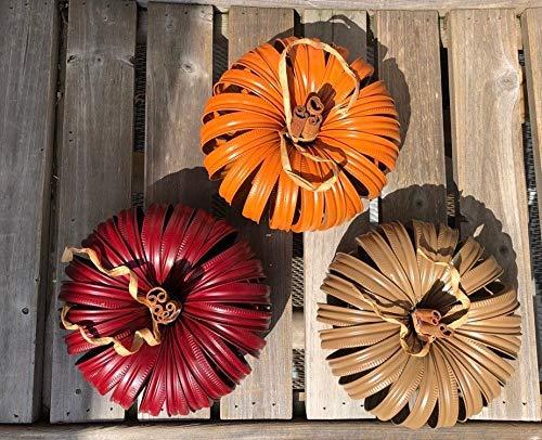 Decorative Mason Jar Lid Pumpkin//Canning Jar Lid Pumpkin//Rustic Pumpkin Decor