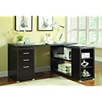 Coaster 800517 Home Furnishings Office Desk, Cappuccino