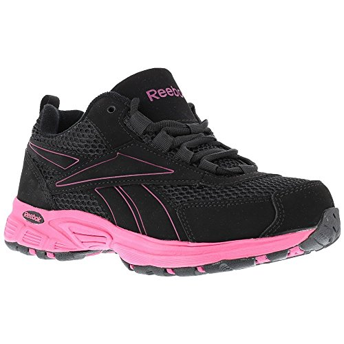 RB486 Work Women's Ateron pink Boot Construction Reebok Black CfqOF6Rxxw