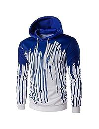 Susenstone Mens' Long Sleeve Hoodie Hooded Sweatshirt Tops Jacket Coat Outwear