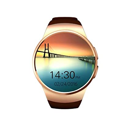 OJBDK Fitness Tracker Impermeable Smart Watch 4G Reloj Inteligente WiFi/GPS, Android 7,