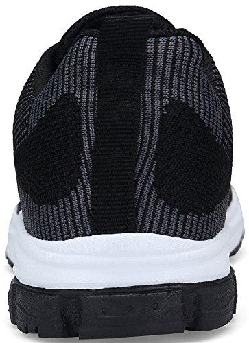 Rojo Trekking Zapatos Zapatillas de Zapatillas Negro Azul de Zapatillas Negro de 36 Deportivas DENGBOSN Mujer 43 Correr Deporte Running Sneakers para Casual UwSpOq