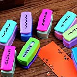 Since Creative Boundary Big Craft Punch Embossing DIY Border Paper Punch Edge Lace Punch for Card Scrapbooking Punches18 designs Set of 3 ,Random Color