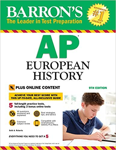 Amazon barrons ap european history 9th edition with bonus barrons ap european history 9th edition with bonus online tests 9th edition kindle edition fandeluxe Choice Image