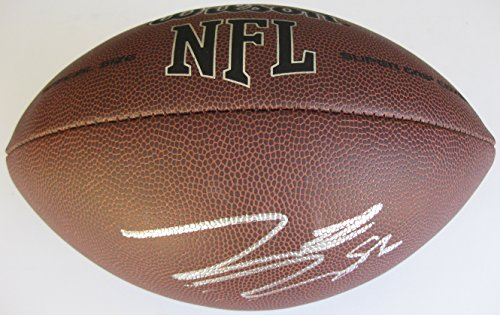 Hunter Henry, San Diego Chargers, Signed, Autographed, NFL Football, a COA with the Proof Photo of Hunter Signing Will Be Included