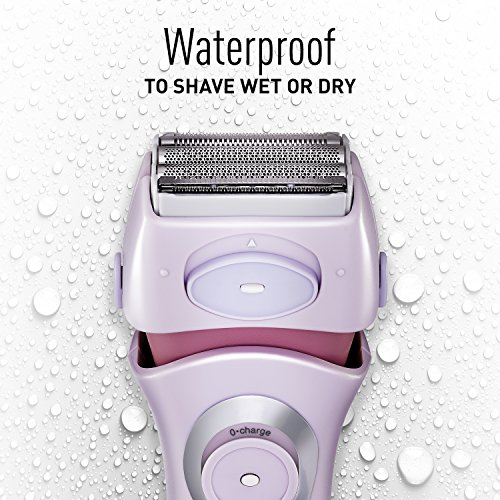 037988561766 - Panasonic ES2216PC Close Curves Women?s Electric Shaver, 4-Blade Cordless Electric Razor with Bikini Attachment and Pop-Up Trimmer, Wet or Dry Shaver Operation carousel main 7