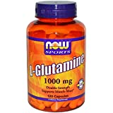 Now Foods L-glutamine 1000 Mg, 120 Capsules