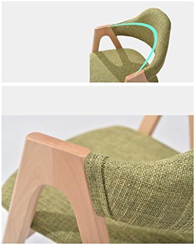 SLL- Chaise de maison en bois massif chaise moderne minimaliste moderne (couleur : F)