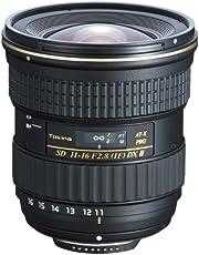 Tokina Pro DX II Objektiv für Kamera (AT-X Pro, Brennweite 11-16mm, f/2,8) inkl. Sonnenblende BH 77B
