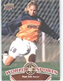 2010 Upper Deck World of Sports Trading Card # 114 Hope Solo / Women's Soccer Cards / Huskies / In a screw down case!