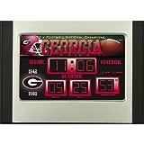 Georgia Bulldogs NG Scoreboard Desk Clock