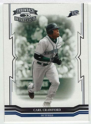 Carl Crawford (Baseball Card) 2005 Donruss Throwback Threads # 163 NM/MT