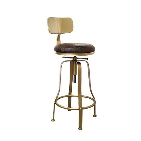Magnificent Amazon Com Wenhui Industrial Golden Counter Height Bar Evergreenethics Interior Chair Design Evergreenethicsorg