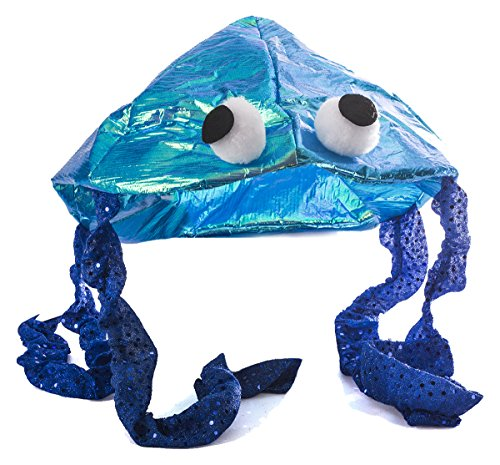 Tigerdoe Jellyfish Hat - Sea Party Hat - Jellyfish Costume - Fish Hat - Costume Hats by (Blue) ()