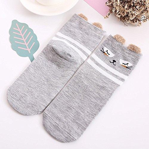 Cotton Socks Girls 6 Pack by K-LORRA (Image #3)