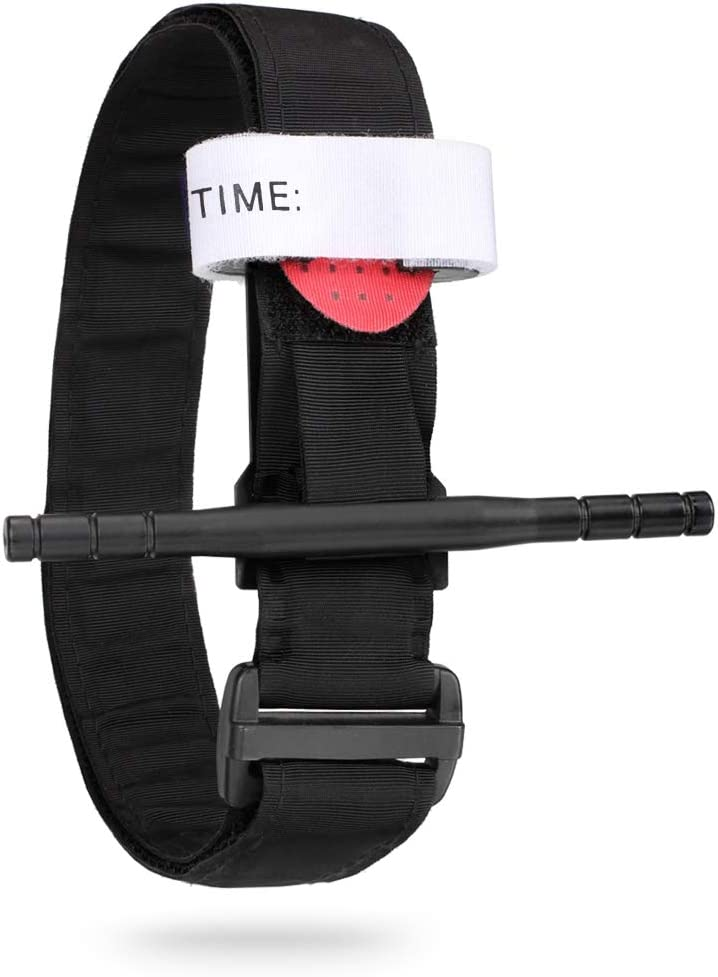 WYNEX Medical Tourniquet Tactical Emergency Tourniquet Windlass First Aid Swat Tourniquet Pre-Hospital Combat Application 2-in-1 Hook and Loop Tape