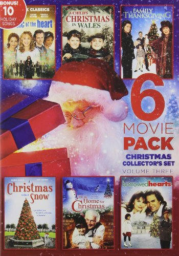 6-Film Holiday Collector's Set V.3 Bonus Audio(MP3): Home for the Holidays (Best Place To Sell Toys)