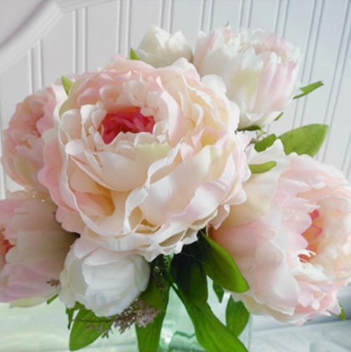 Light-Pink-Silk-Peony-bouquet-7-head-artificial-flowers-with-lavender