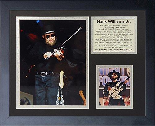 Legends Never Die Hank Williams Jr. Framed Photo Collage, 11x14-Inch