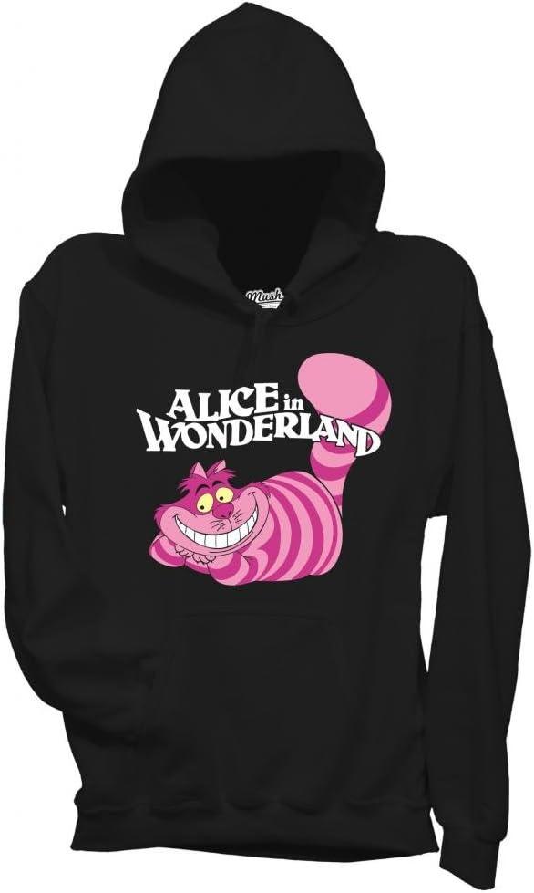 MUSH Sweat-Shirt /à Capuche avec imprim/é inspir/é du Film Alice au Pays des Merveilles