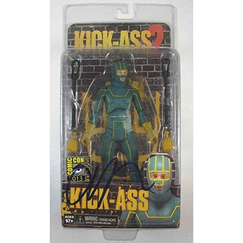 2' Figure (Aaron Taylor-Johnson 'Kick-Ass 2' Signed Action Figure Comic-Con Exclusive Certified Authentic PSA/DNA COA)