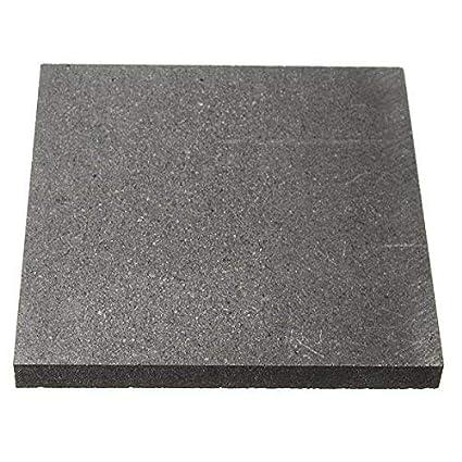 ChenXi Shop Graphitplatte aus Graphit, 100 x 50 x 1 mm, 2 Stü ck, 100x50x1mm X2, 2